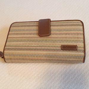 Rosetti multi color zipper wallet.     NWT